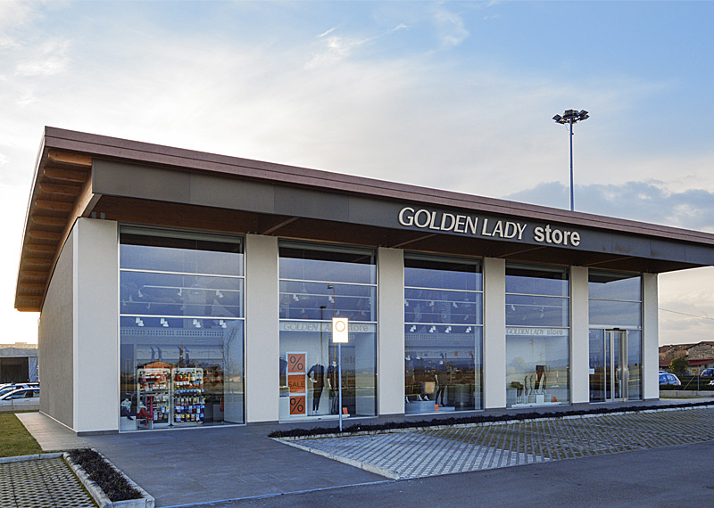 Edificio commerciale in legno - Golden Lady Store - Faenza